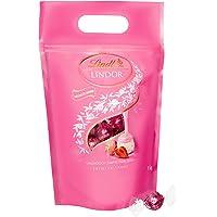 Lindt Lindor Erdbeer-Sahne-Schokoladenkugeln (glutenfrei – ca. 80 Kugeln) 1 kg