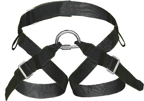 OPG - Arnés de asiento para escalada de rana, color negro ...