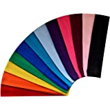 1 Dozen 2 INCH WIDE Cotton Soft and Stretchy Headbands YOU PICK SET COLORS From Funny Girl Designs