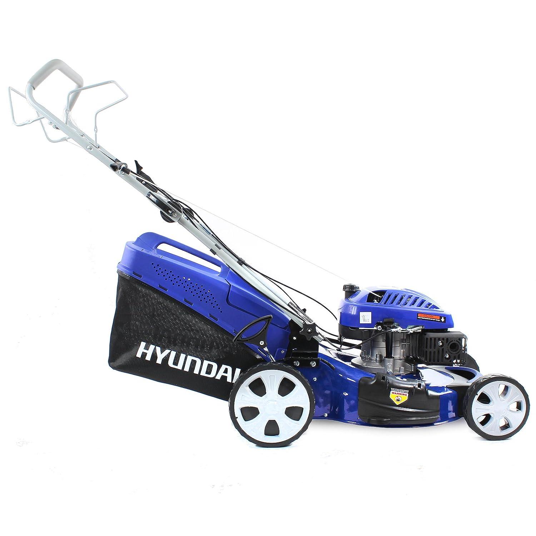 Hyundai - Cortacésped rotatorio autopropulsado de gasolina 4 en 1 ...