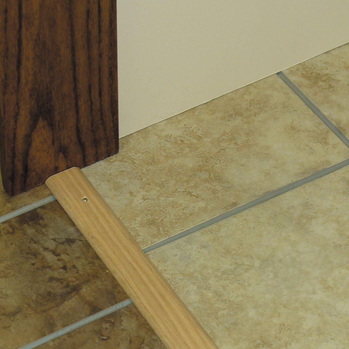 1-3//4 in W X 36 in L X 5//16 in H x 1-3//4 W x M-D Building Products 11882 M-D Flat Door Threshold Natural Tan//Oak