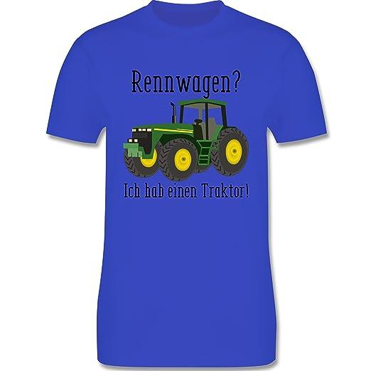 Landwirt - Rennwagen? Traktor! - Herren T-Shirt Rundhals: Shirtracer:  Amazon.de: Bekleidung