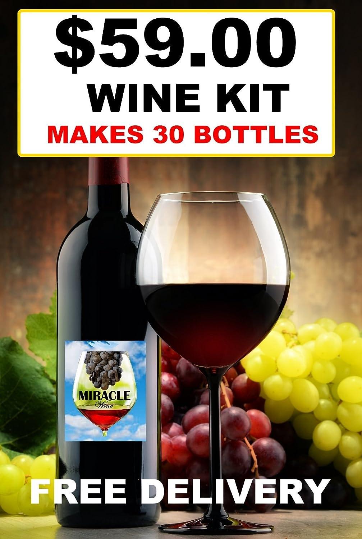 Wine KIT RED Style Cabernet Sauvignon - Makes 30 Bottles (23L)