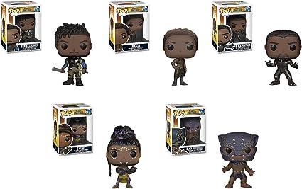Funko POP Marvel Black Panther Movie Black Panther Warrior Falls Collectib