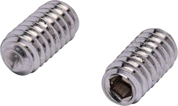 3//8-16 X 1-1//4 Cup Point Square Head AISI 304 Stainless Steel Full Thread Set Screws 15 pcs 18-8