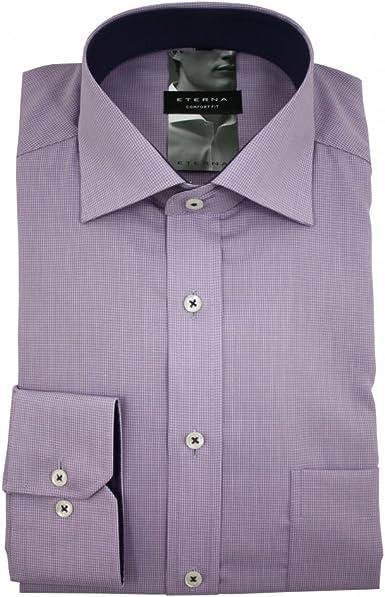 eterna - Camisa formal - Cuadrados - Collar de Kent - para ...