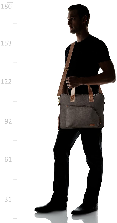 67542765edf9 Ruosh Canvas 38 cms Brown Messenger Bag (mes-bag-5540)  Amazon.in  Bags