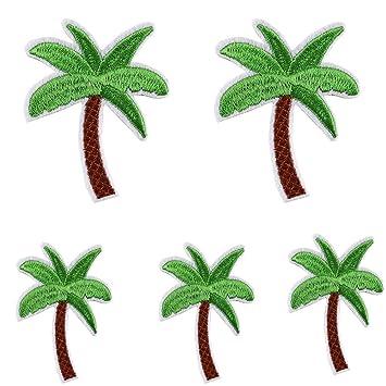 Palme Bügelbild Aufnäher Aufbügler Miniblings Tropen Baum Palmen tropisch Urlaub