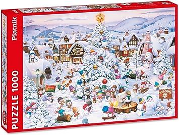 Coro Di Natale.Coro Di Natale Puzzle Da 1000 Pezzi Amazon It Giochi E Giocattoli