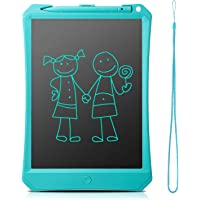 """LCD Writing Tablet 10"""", FlyHi New Gen Electronic Writing & Drawing Doodle Board, Handwriting Paper Drawing Tablet, Kitchen Memo Notice Fridge Board, Daily Planner, Gift for Kids and Adults (Blue)"""