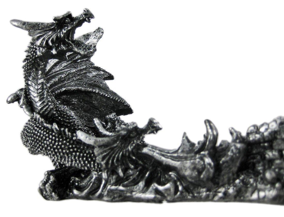 Gótico dragón & Castillo de fantasía cuchillo y soporte: Amazon.es: Hogar