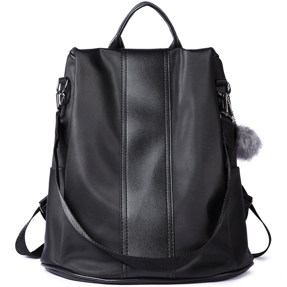 Women Backpack Purse Nylon Covertible Designer Ladies Lightweight Fashion Travel School Shoulder Bag