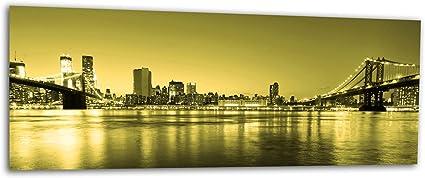 KD Dsign+ XXL Glasbild AG312500580 MURAL NEW YORK CITY NYC