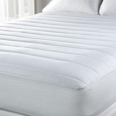 Amazon Com Luxury Sealy Temperature Regulating Mattress Pad