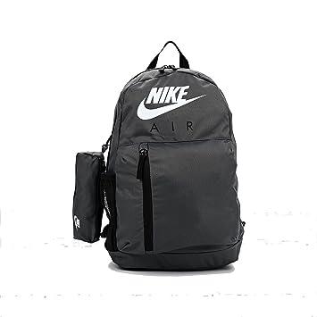 d18eb2b2bc925e Nike Backpack - Elemental Graphic grey/black/white: Amazon.co.uk ...
