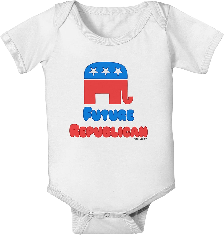 TooLoud Future Republican Baby Romper Bodysuit