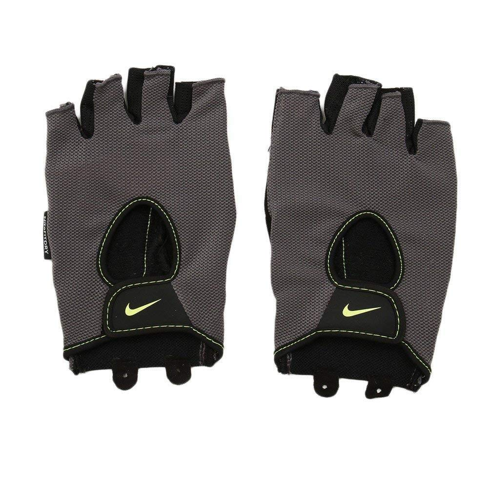 Nike Men`s Fundamental Training Fitness Gloves (Volt(NLGB2714-714)/Black, X-Large)