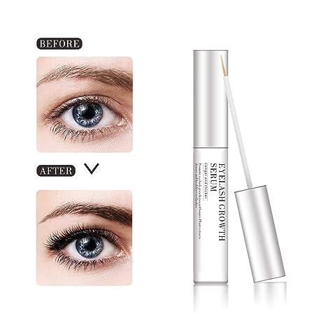 Amazon.com: Organic Eyelash Growth Enhancer & Eyebrows Growing Serum for Long Thicker Eye lashes (5ML): Beauty
