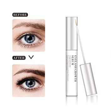 133a68d3f11 Image Unavailable. Image not available for. Color: Organic Eyelash Growth  Enhancer & Eyebrows Growing Serum ...