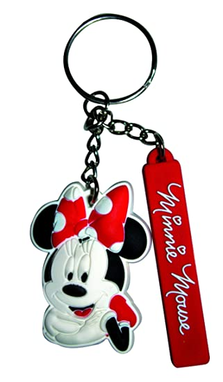 Minnie Mouse mikey001 Llavero Estampado: Amazon.es: Coche y moto