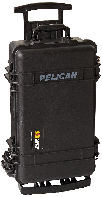 Pelican 1510M Case, 23.55' x 14.36' x 10.62' Medium Carry On Mobility Version Case w/ Foam Black [並行輸入品]   B019SZ5V6A