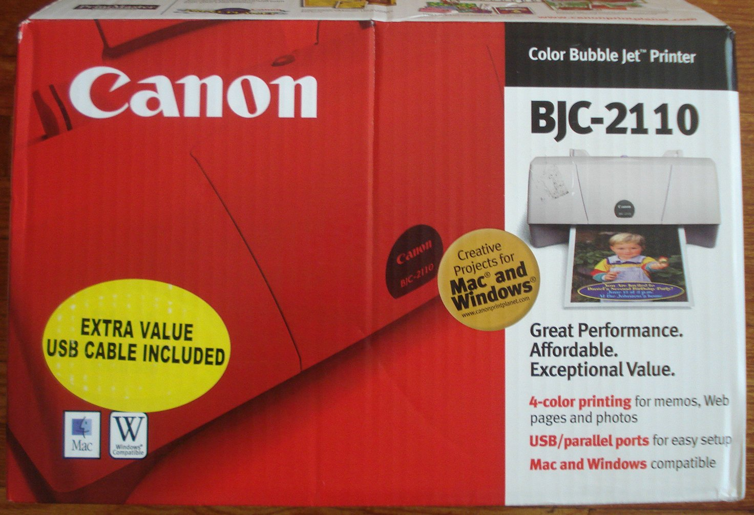 Canon bjc-2110 self tests youtube.