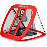 RELILAC Pop Up Golf Chipping Net - Indoor/Outdoor Golfing Target Accessories for Backyard Accuracy and Swing Practice…