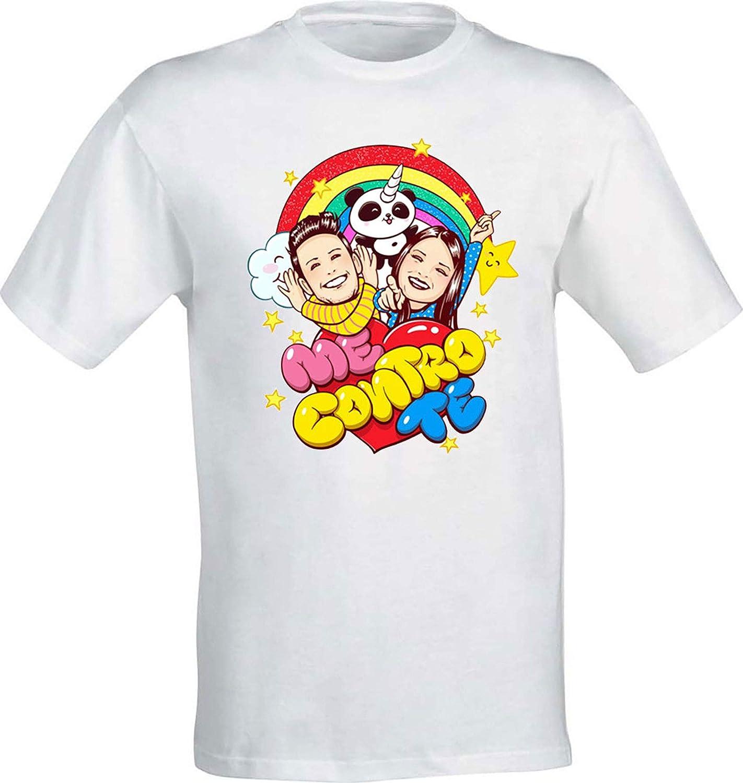 T-Shirt Maglietta Me Contro Te Replica Sofi e Lui Kira e Ray Cotone 100/%
