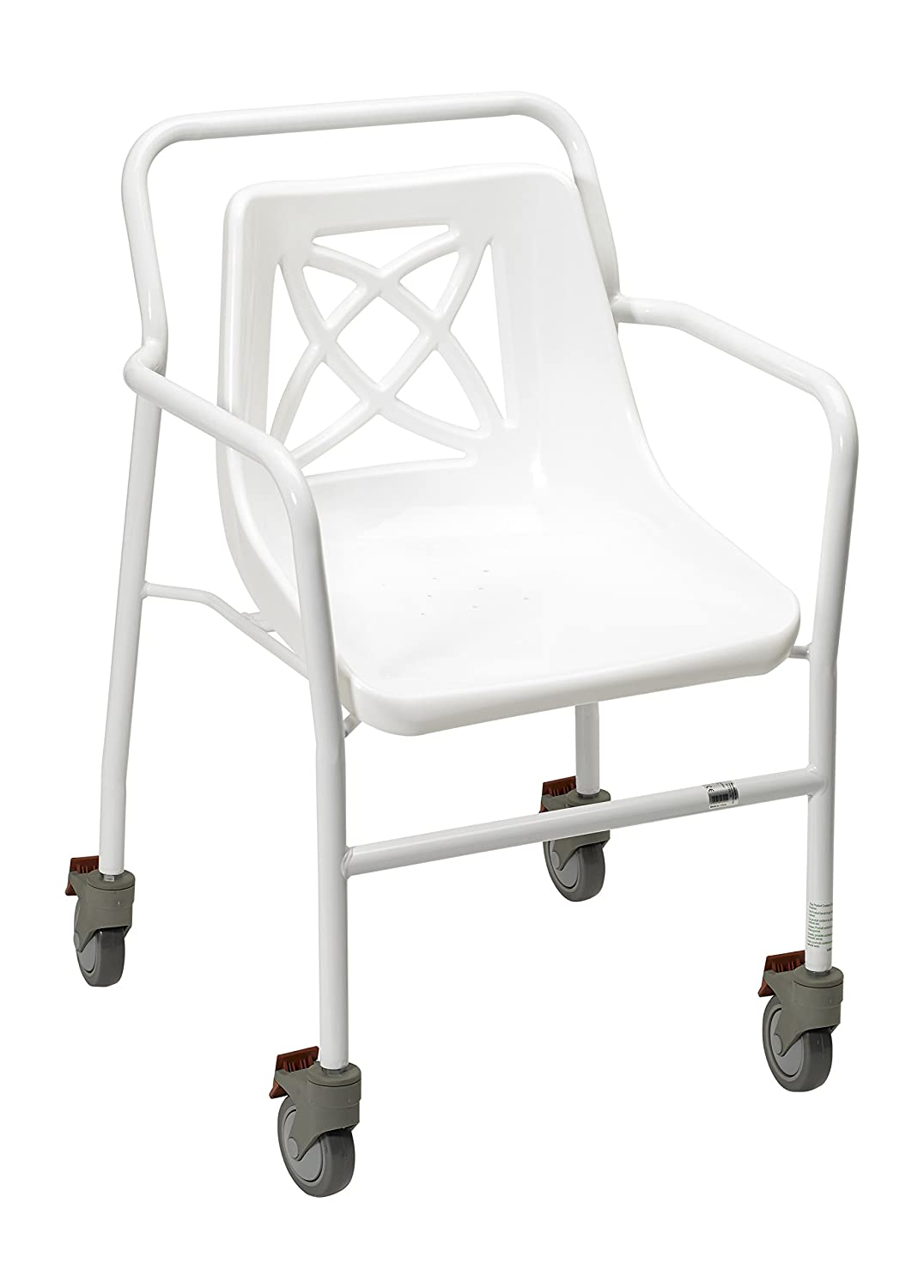 Homecraft Harrogate Fixed Height Shower Chair with Wheels (Eligible ...