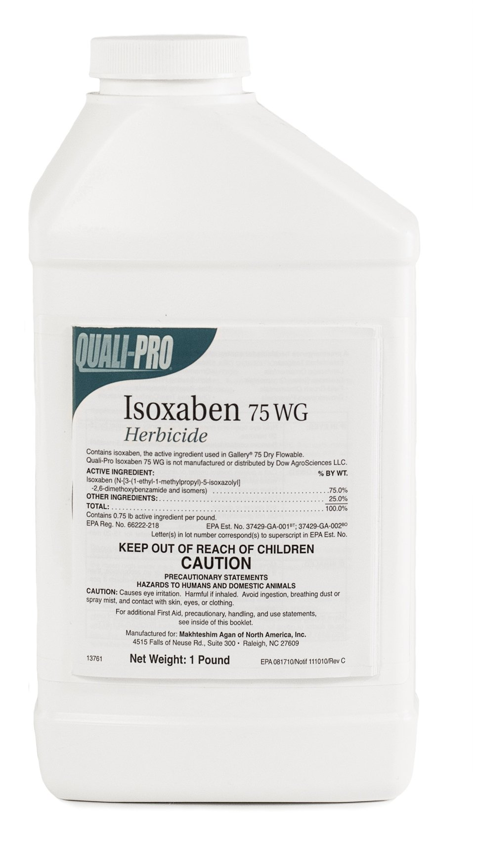 Isoxaben 75WG Pre-Emergent Herbicide for Lawn & Landscape 1 lb replaces Gallery by ITS Supply