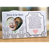 i thought of you with love today ceramic memorial picture frame beautiful tribute to the