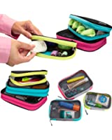 Travelon Set 3 Travel Packing Squares Cubes Organizers Makeup Toiletry Case Bag
