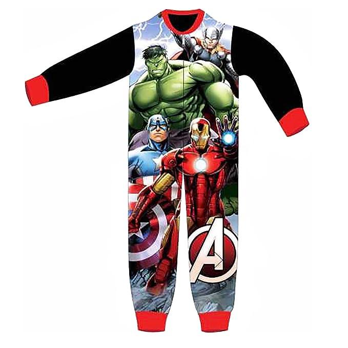 Avengers - Pijama dos piezas - para niño negro 3/4 Años (104 cm