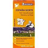 Carta stradale. Spagna/ Paesi Baschi-Navarra