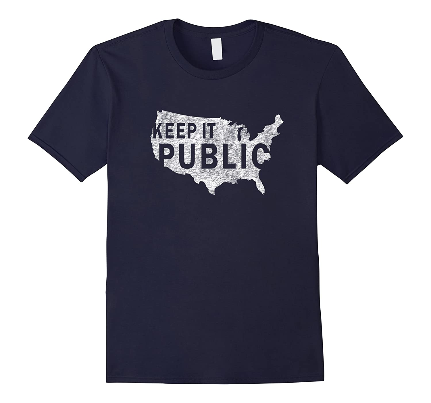 Public Land Owners Keep it Public T-Shirt-TD