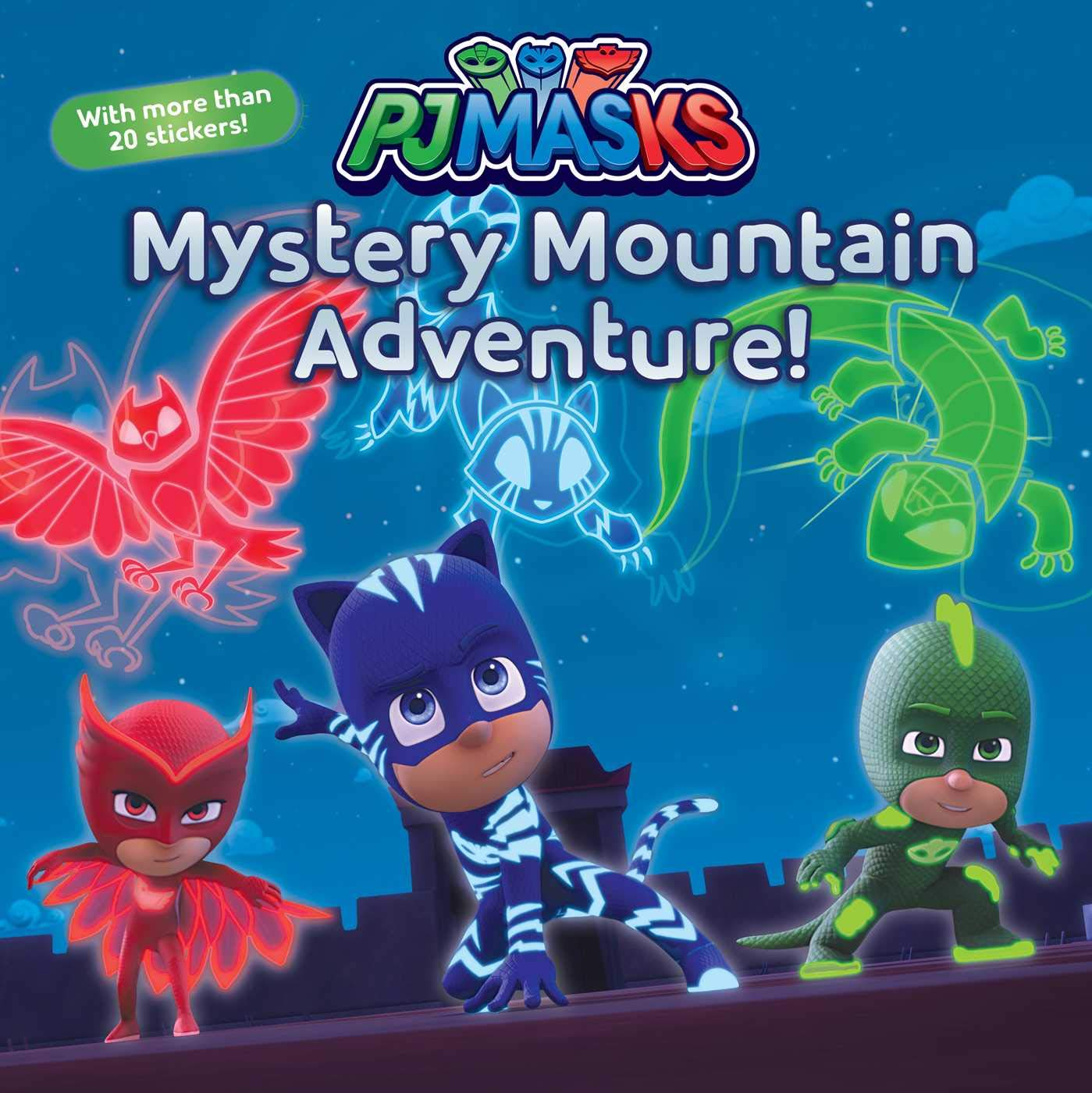 Mystery Mountain Adventure! [With More Than 20 Stickers] (Pj ...