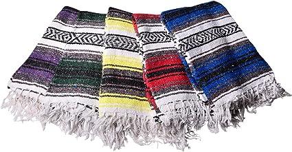Hugger Mugger Mexican Yoga Blanket (Colors Vary)
