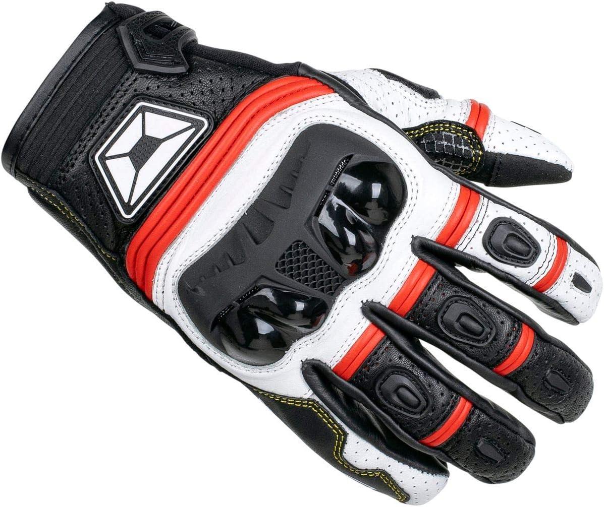 Black//White Cortech Mens Speedway Chicane St Glove Md