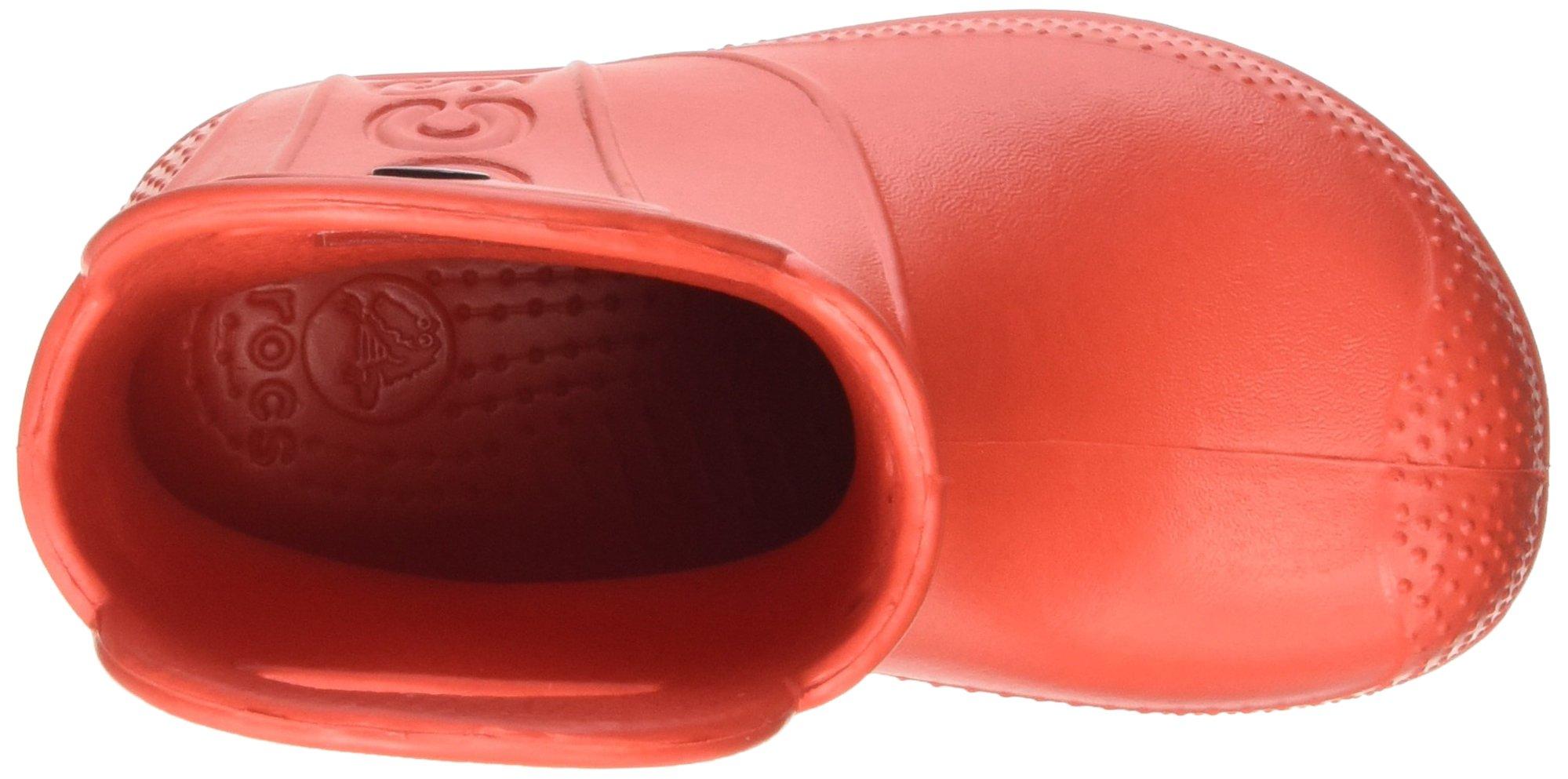 Crocs Kids' Handle It Rain Boot, Flame, 8 M US Toddler by Crocs (Image #8)