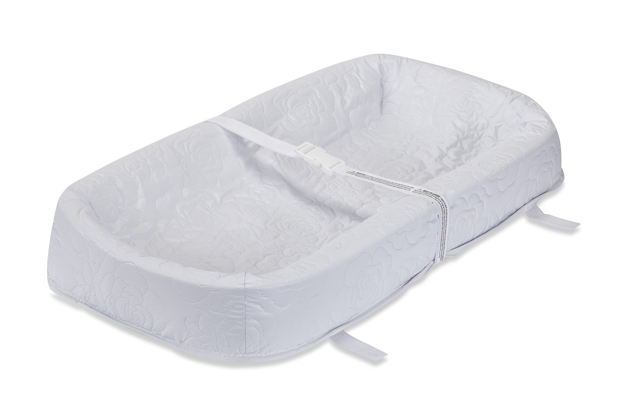 LA Baby Waterproof 4 Sided Cocoon Changing Pad, 32'' - Made in USA. Easy to Clean Cover w/Non-Skid Bottom, Safety Strap, Fits All Standard Changing Tables/Dresser for Best Infant Diaper Change by LA Baby