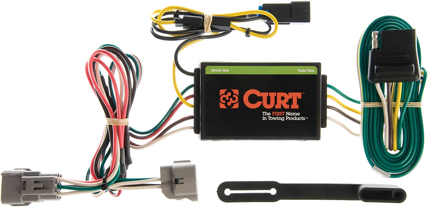 Amazon.com: CURT 55260 Vehicle-Side Custom 4-Pin Trailer Wiring Harness,  Select Jeep Grand Cherokee: Automotive | 1998 Jeep Grand Cherokee Trailer Wiring Harness |  | Amazon.com