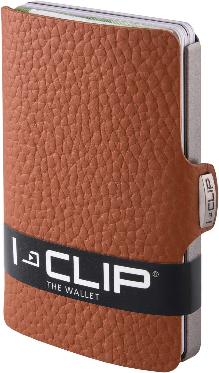 I-CLIP ® Cartera Pure Nuez (Disponible En 5 Variantes)
