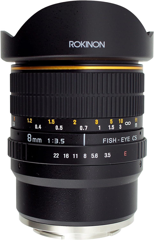 gaixample.org Electronics & Photo Camera Lenses Black Rokinon FE8M ...