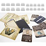Dephia 2000 Ct Gloomhaven Board Games Card Sleeves Great Fit 1000 Card Sleeves for Standard Cards and 1000 for Mini…