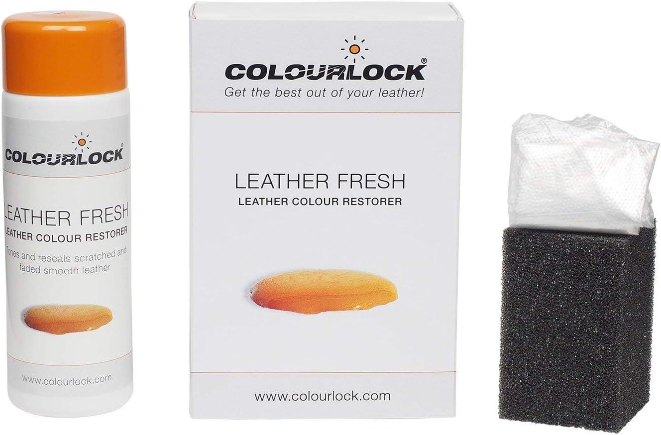 Tinte para piel Colourlock en colores RAL para la reparación de color, restaurador para rozaduras y pequeñas grietas en los asientos de coche, sofás, ...