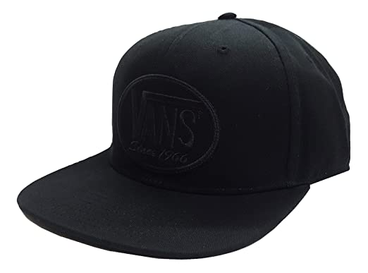 bd06cf818a Image Unavailable. Image not available for. Colour  Vans Men s 66 Again  Patch Snapback Hat Black One-Size VN0A3DKVBLK