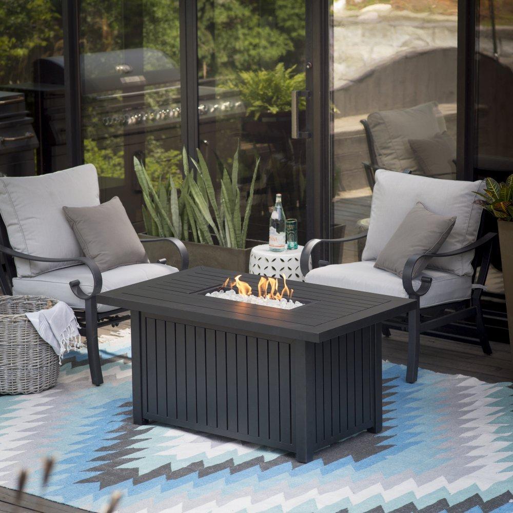 Amazon.com : Endless Summer Aaron Slate LP Fire Table : Patio, Lawn U0026 Garden