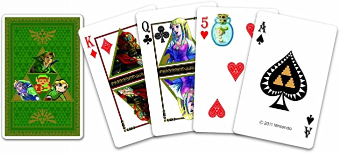 The Legend of Zelda Playing Cards: Amazon.es: Alimentación y bebidas