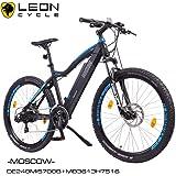 "'NCM Moscow 2016, 29""Vélo électrique Mountain Bike, E de VTT E-Bike, Pedelec, 36V 250W bafang Moteur, 36V 13Ah Designer Cadre Batterie, noir mat, bleu clair"