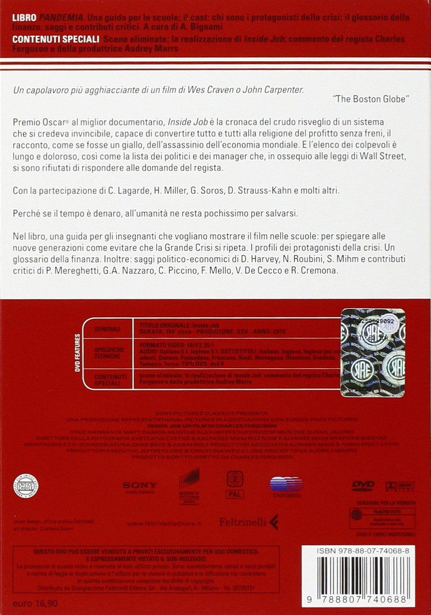 Wall street il denaro non dorme mai amazon it michael douglas - Con Libro Amazon It Charles Ferguson Libri